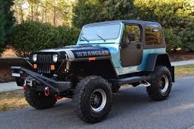 jeep wrangler v8 meticulously modified 1990 jeep wrangler yj v8