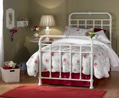 twin iron bed frame modern bed frame design with black and white