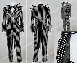 Black White Striped Halloween Costume 62 Nightmare Christmas Costumes Images