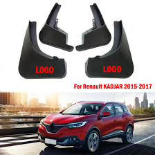 new oem set splash guards mud guards mud flaps for renault kadjar