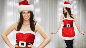 diy cute santa claus mean girls santa baby costume youtube