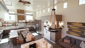 Industrial Loft Floor Plans 3d Rendering Of A Kitchen In A Industrial Loft Stock Footage Video