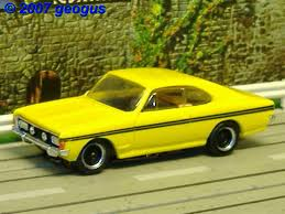 opel commodore the world of geogus h0 slotcars slotcar gallery bauer