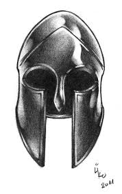 spartan warrior helmet tattoo sample photo 3 photo pictures