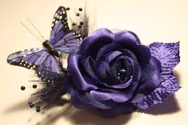 butterfly for hair blue butterfly hair accessory by artsyalice3854 on deviantart