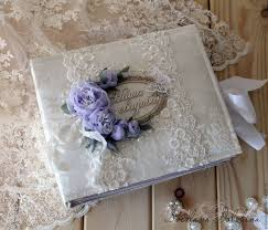 handmade photo album album for wedding photos purple dreams white lilac shop online