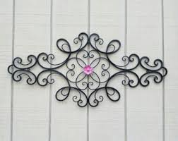 Metal Flower Wall Decor - metal wall art etsy