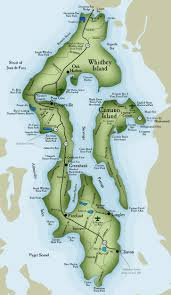 Pacific Northwest Map Whidbey Island Real Estate Map Things To Do On Whidbey Island
