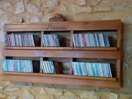 pallet cd shelf pallets shelves and storage