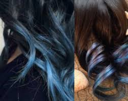 teal hair extensions teal hair extensions etsy