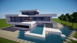 Modern House Furniture Minecraft Minecraft Easy Modern House Mansion Tutorial 4 Download
