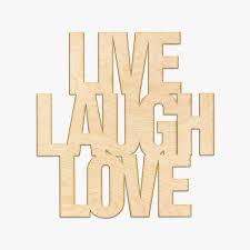 live laugh love laugh love wood sign
