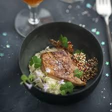 cuisiner des topinambours a la poele foie gras poêlé et purée de topinambour