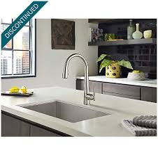 free kitchen faucets stainless steel lita touch free pull kitchen faucet with