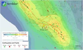 Los Angeles Safety Map by Los Angeles U0027 Seismic Risk Highlighted By Last Night U0027s M U003d3 6