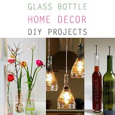 glass bottle home decor diy projects the cottage market