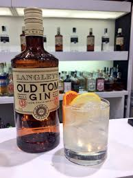 tom collins bottle langley u0027s gin on twitter