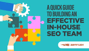 a quick guide to building an effective in house seo team