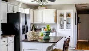 Kitchen Cabinets White Kitchen Cabinets by Built In Kitchen Cabinet Update A Modern Vintage Home