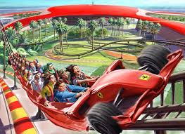in abu dhabi roller coaster abu dhabi has the fastest and highest roller