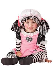 baby costumes spirit halloween baby rag doll costume costumes halloween costumes and babies