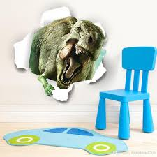 Home Decoration Wholesale by 2015 Wholesale 3d Dinosaur Wall Stickers Home Decor Wall Sticker