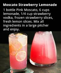 pink moscato strawberry lemonade recipe strawberry lemonade