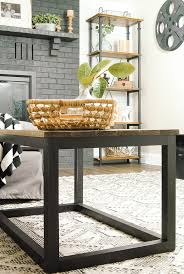 How To Build An End Table An Easy Way To Build An Industrial Wood Coffee Table Little