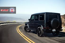 Hre Flag Mercedes Benz G63 Amg With 943rl In Satin Black Hre Performance