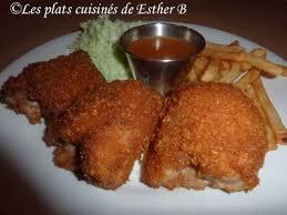 cuisiner haut de cuisse de poulet les plats cuisinés de esther b hauts de cuisses de poulet croustillant