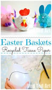 easter baskets for kids papier mache hen