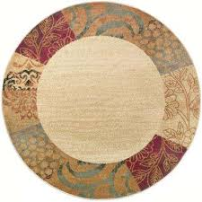 Tahari Rugs Tayse Rugs Round Area Rugs Rugs The Home Depot