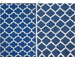 Blue Quatrefoil Rug Stylish Rugs To Update Your Home