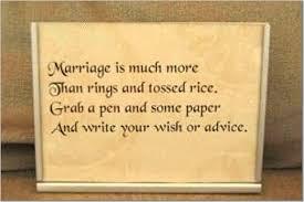 Wedding Wishes Jar Brides Helping Brides Guest Book Poem Liweddings