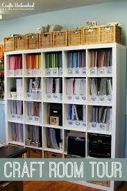Room Craft Ideas - craft room tour organizational storage ideas