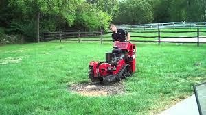 stump grinder rental near me one stop rental using a stump grinder