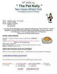 thanksgiving meal delivery robbins list new haven events fundraisers u0026 deals