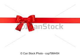 ribbon bow ribbon bow big bow isolated on white background stock