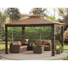 Patio Canopy Gazebo by Gazebos U0026 Sun Shelters Costco