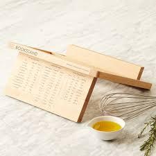 Under Cabinet Cookbook Holder Plans Universal Expert Wooden Cookbook Stand West Elm