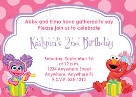 First Year Invitation Birthday Cards Abby Cadabby And Elmo Birthday Invitation By Lovelifeinvites 2nd