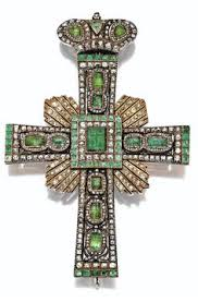 pectoral crosses for sale a 19th century gold enamel and gem set cross pendant and chain