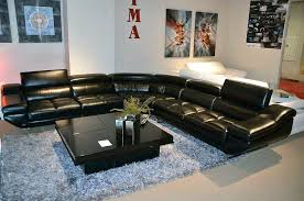 Cheap Black Leather Sectional Sofas Black Leather Sectional Sofa Adrop Me