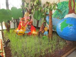 Home Ganpati Decoration Decoration Ideas For Ganesh Chaturthi At Home Festivals Of India