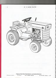 massey ferguson mf12 parts manual disc file lawn and garden