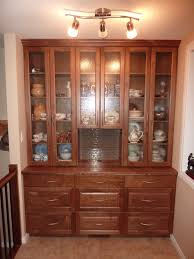 raised panel walnut kitchen china cabinet and railings for my mom