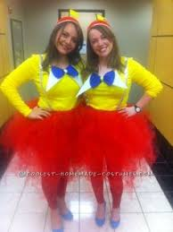 Fancy Nancy Halloween Costume Twin Costumes Tweedle Dee Tweedle Dum Fun Idea