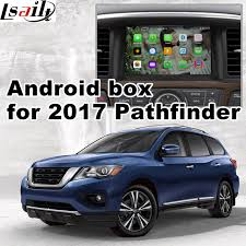 pathfinder android android 6 0 gps navigation box for 2017 nissan pathfinder mirror