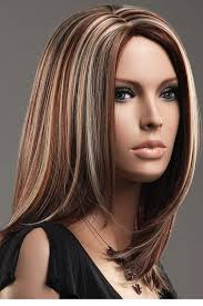 1000 images about platinum brown hair high lights on dear lover women s brown blonde straight mid length highlights