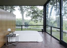 the glass house rough linen